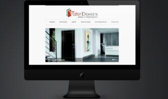 Сайт и логотип Vetrodoors
